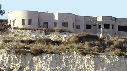 Abed Aghbariya's illegal house near Umm al-Fahm (Photo: Regavim NGO)