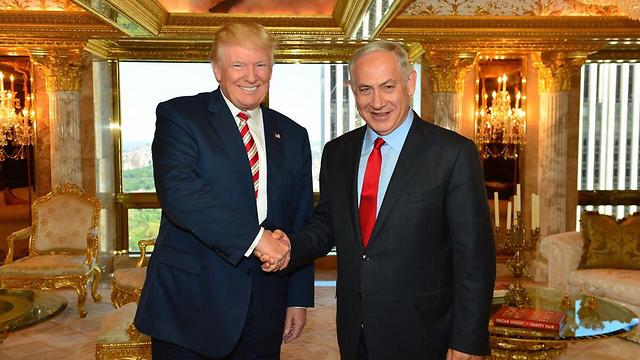 Trump and Netanyahu before the US elections (Photo: Kobi Gideon, GPO) (Photo: Kobi Gideon/GPO)
