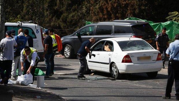Машина ликвидированного террориста. Фото: AFP