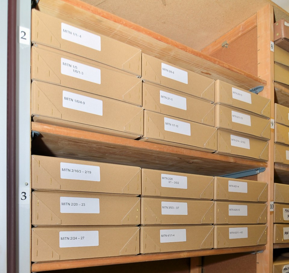 Die Mitrokhin-Dokumente am Churchill College in Cambridge