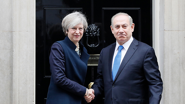 PMs Netanyahu and May (Photo: AP)