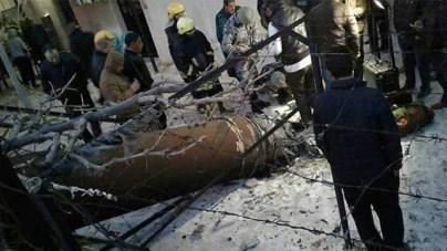 arrow missile crash jordan