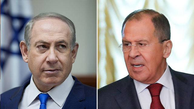 PM Netanyahu (L) reiterated Israel's position on preserving its own interests following Lavrov's statements (Photo: Reuters, MCT)
