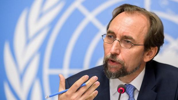 Глава Совета Зейд Раад аль-Хусейн. Фото: AFP