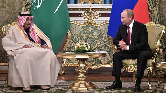 King Salman meets with President Putin (Photo: AFP)