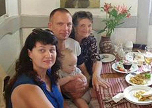 Татьяна Михайловна с дочерью и зятем. Фото из семейного архива