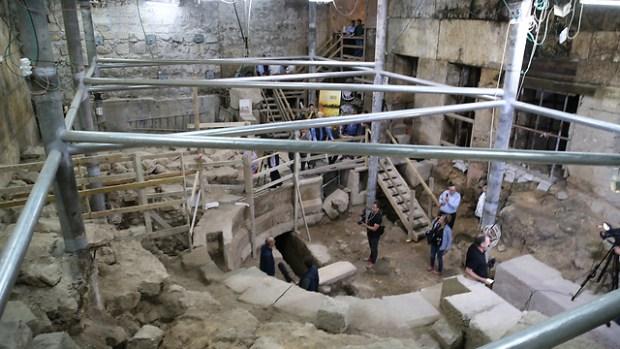 Театр под Стеной плача. Фото: Амит Шааби (Photo: Amit Shabi)