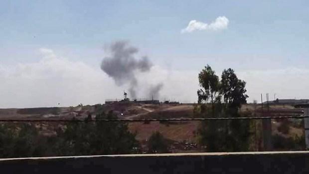 Дым над Газой