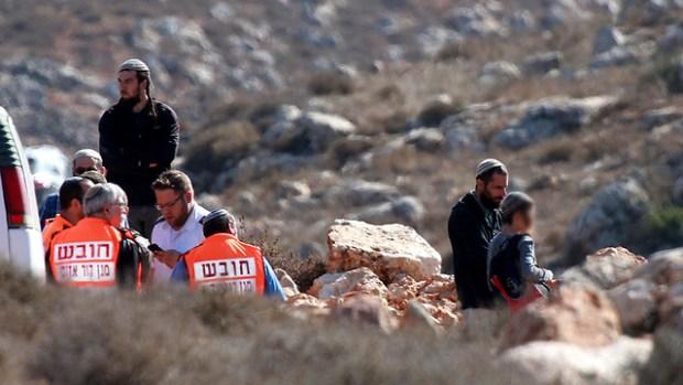 Инцидент возле Шхема. Фото: ЕРА (Photo: EPA)