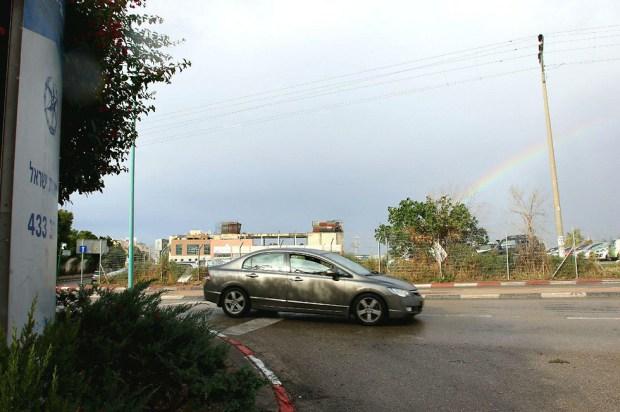 Облака над Лодом. Фото: Ави Муалем