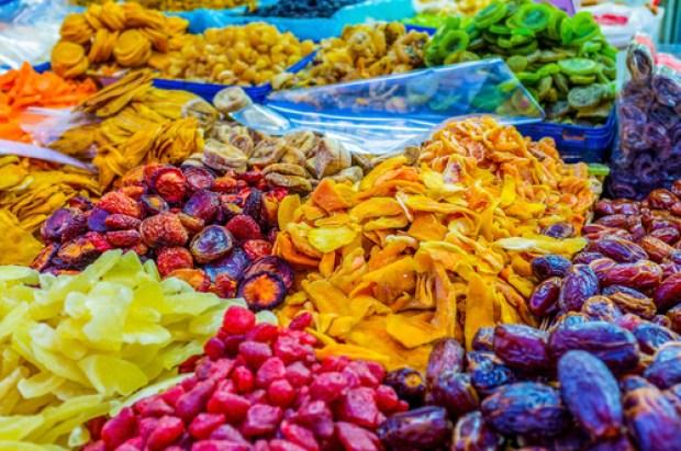 Круглый год на рынках Тель-Авива продаются овощи и фрукты. Фото: shutterstock