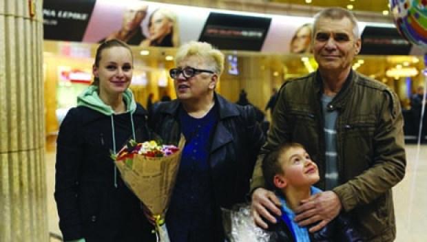 Семья Хромовых в сборе. Фото: Амит Шааль