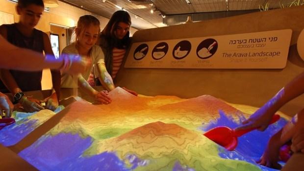 Интерактивная экспозиция в Центре Вайдора. Фото: Туристическая компания регионального совета Арава-Тихона