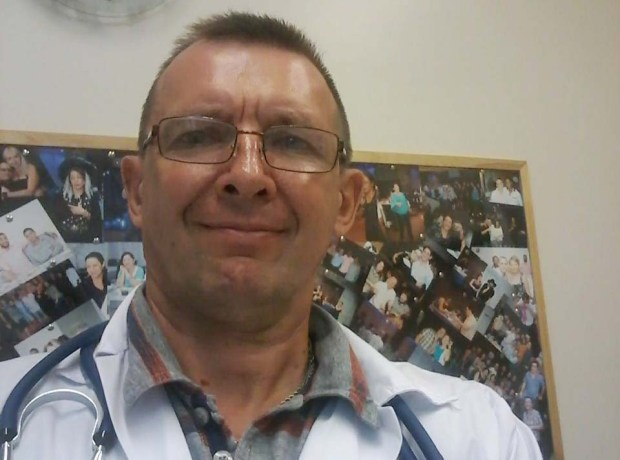 """Виктор Чепелев во время прохождения стажировки в больнице """"Асаф ха-Рофе"""""""