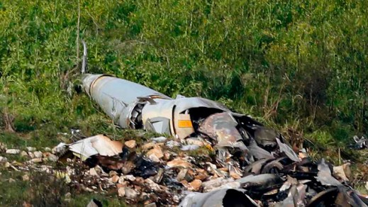 israeli f-16 crash debris