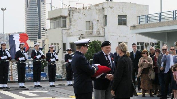 Церемония награждения. Фото: посольство Франции в Израиле