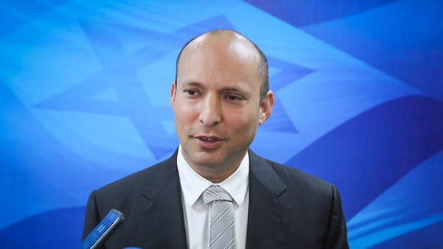 Министр просвещения Нафтали Беннет. Фото: Марк Исраэль Селлем (Photo: Marc Israel Sellem)