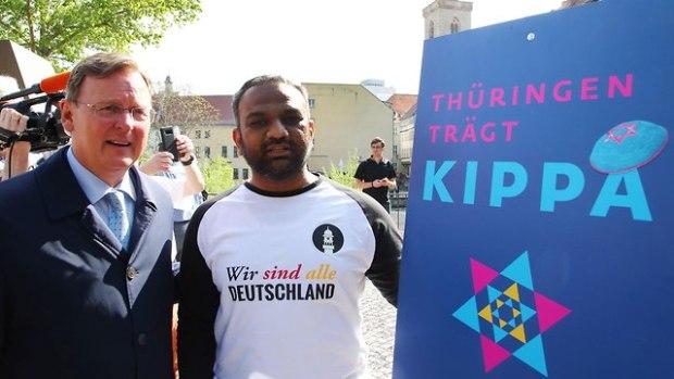 Митинг солидарности в Эрфурте. Фото: AFP (Photo: AFP)