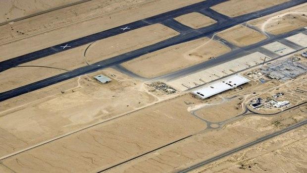 Вид на аэропорт Рамон с воздуха. Фото: пресс-служба ЦАХАЛа