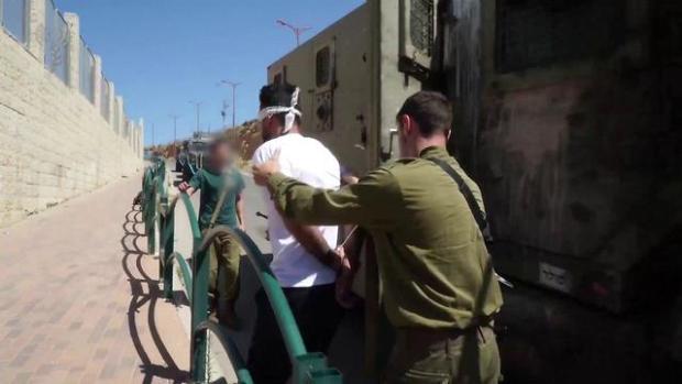 Задержание террориста. Фото: ЦАХАЛ (Photo: IDF Spokesman's Office)