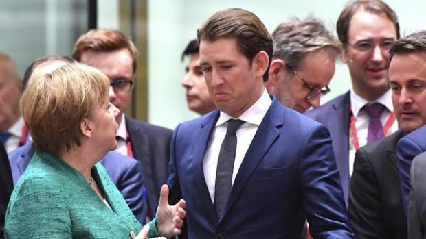 Два канцлера  два подхода. Фото: АР (Photo: AP)