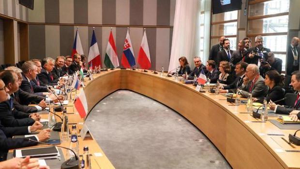 Участники саммита в Брюсселе. Фото: AFP (Photo: AFP)