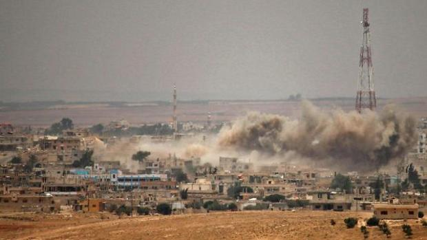 Бои на юге Сирии. Фото AFP (Photo: AFP)