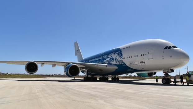 А380 компании Hi Fly. Фото: пресс-служба компании