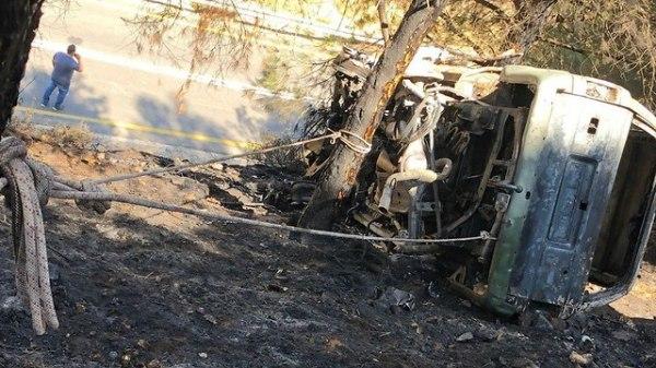 Труп в сгоревшей машине на Голанах: полиция ищет убийцу