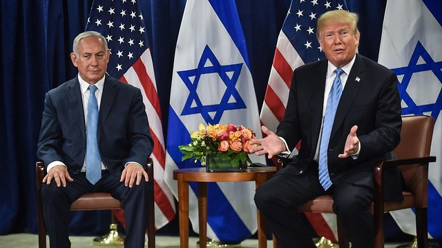 Trump and Netanyahu at a press conference (Photo: AFP)