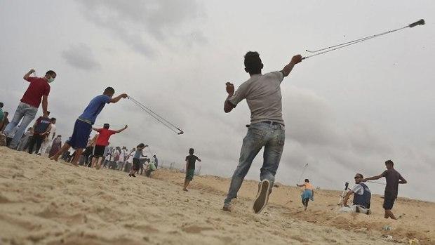 Беспорядки на границе сектора Газы. Фото: AFP (Photo: AFP)