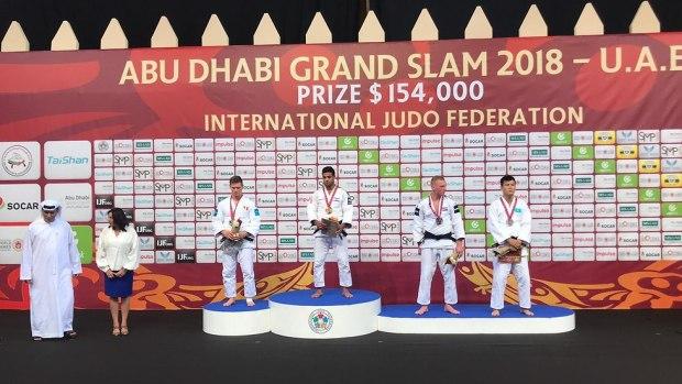 Награждение. Фото: федерация (Photo: Israel Judo Association)