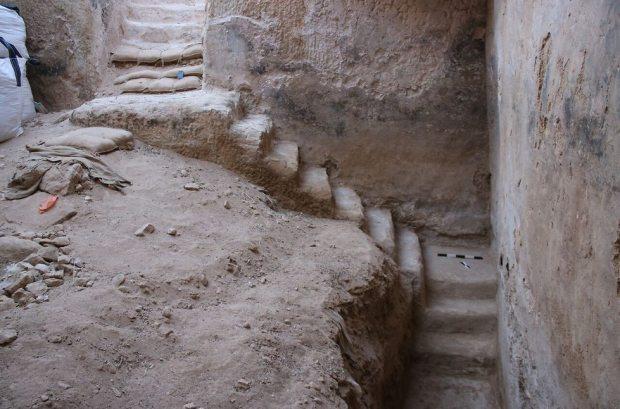 Древний водосборник. Фото: Управление древностей