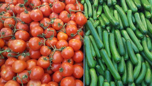 Изобилие овощей в Израиле - круглый год