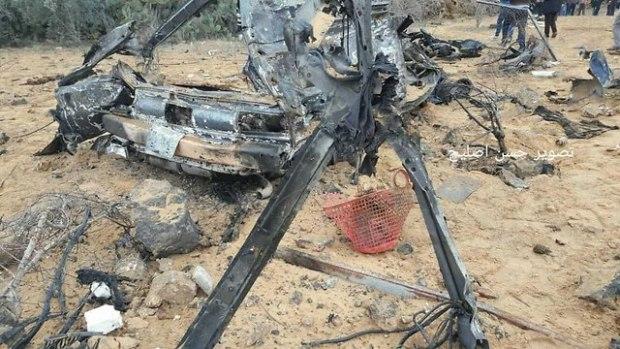Уничтоженнаяя машина, которую использовал ЦАХАЛ