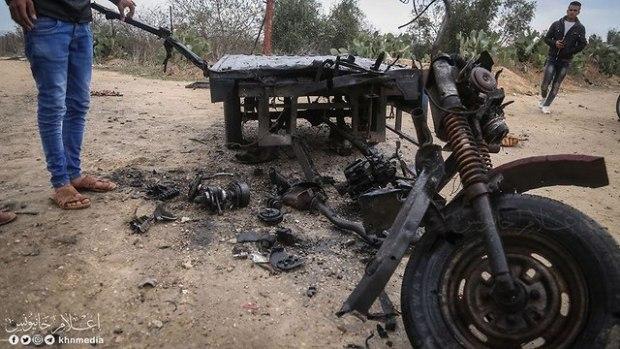ВВС ЦАХАЛа нанесли удар в районе Хан-Юниса