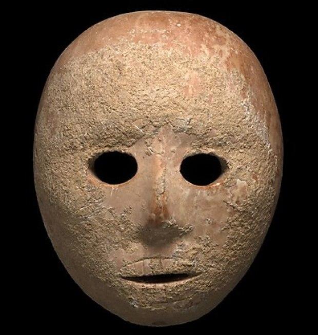 Маска. Фото: Клара Амит, Управление древностей