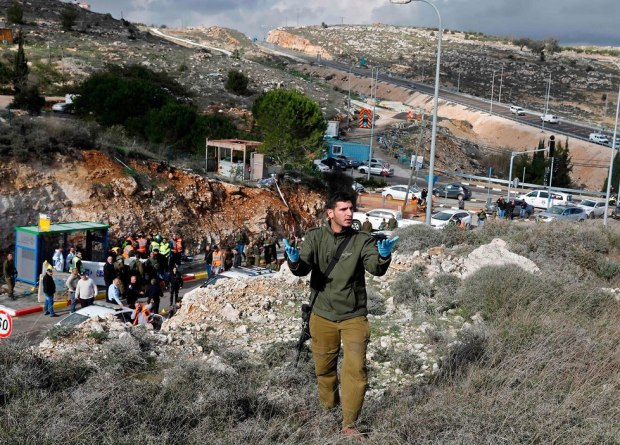 На месте теракта. Фото: AFP (Photo: AFP)