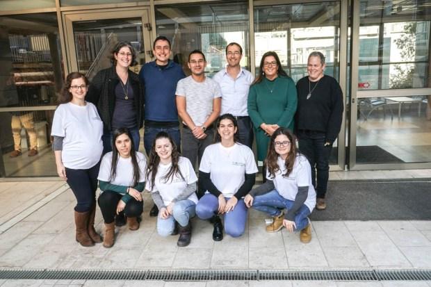 Участники научной группы. Фото: Ницан Зоар (Технион)