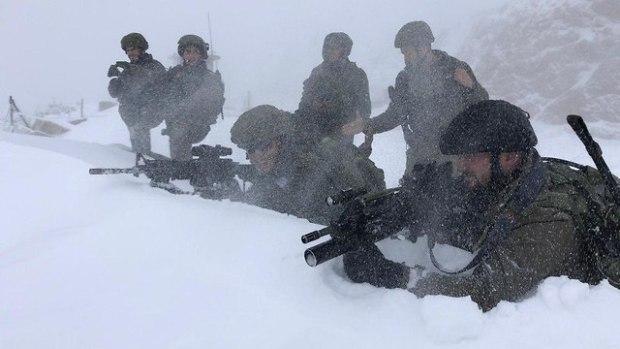 Бойцы 605-го батальона на Хермоне. Фото: пресс-служба ЦАХАЛа