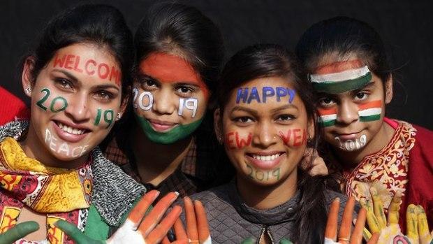 Индия, Новый год. Фото: EPA (Photo: EPA)