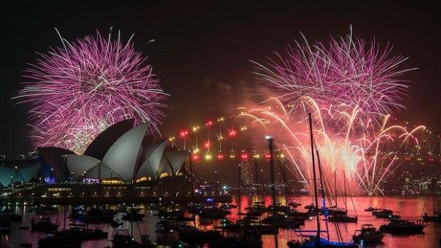 Сидней, Новый год. Фото: ЕРА (Photo: EPA)