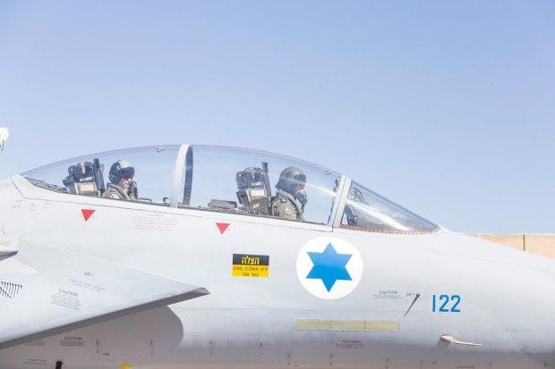 "F-15 ""Баз"". Фото: пресс-служба ЦАХАЛа"