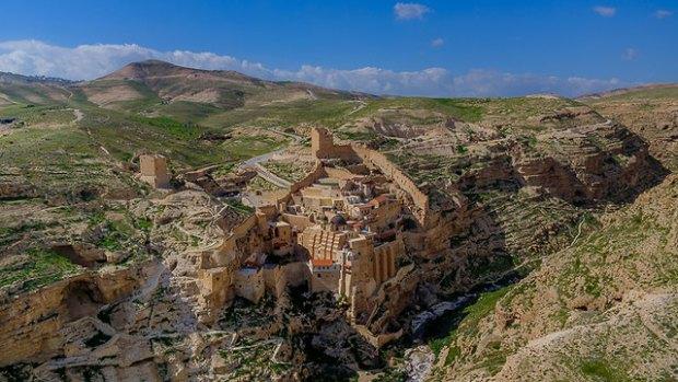 Монастырь Мар-Саба. Фото: Исраэль Бардуго