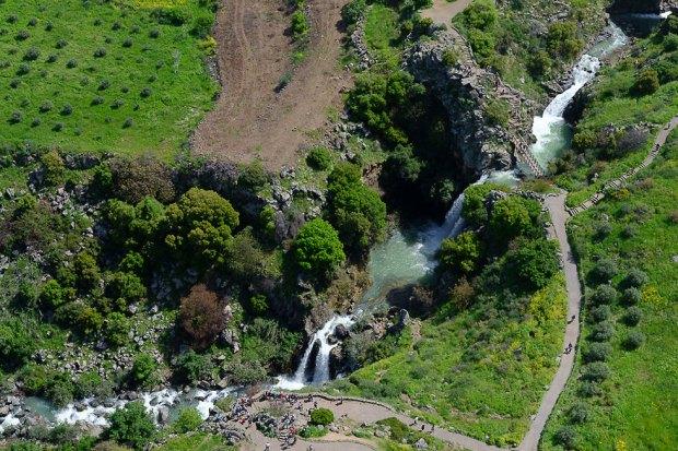 Водопады на Голанах. Фото: Исраэль Бардуго