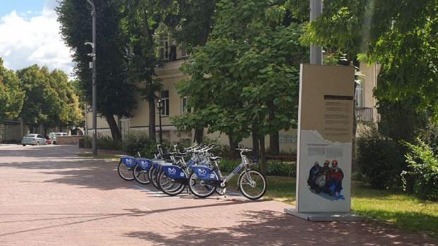 Точка аренды велосипедов. Фото: Ноа Лави