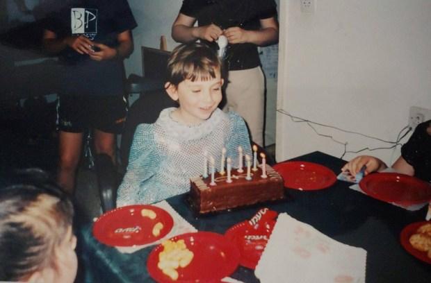 Шани на дне рождения. Фото: личный архив