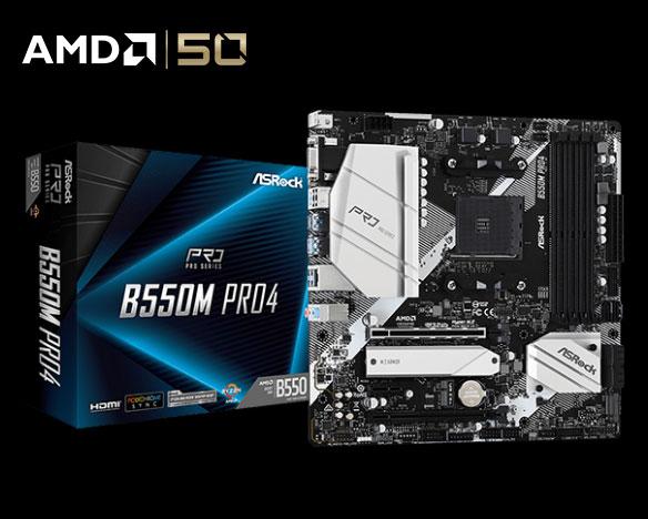 B550M Pro4 motherboard