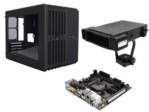 GIGABYTE GA-H270N-WIFI LGA 1151 Intel H270 Mini ITX Motherboards, Corsair Carbide Series Black Steel MicroATX and Mini-ITX ...