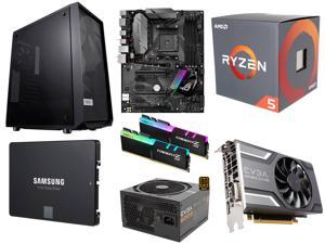 AMD RYZEN 5 1600 6-Core 3.2 GHz Processor, ASUS ROG STRIX B350-F GAMING MB, G.SKILL TridentZ RGB Series 16GB DDR4 3200, SAMSUNG ...